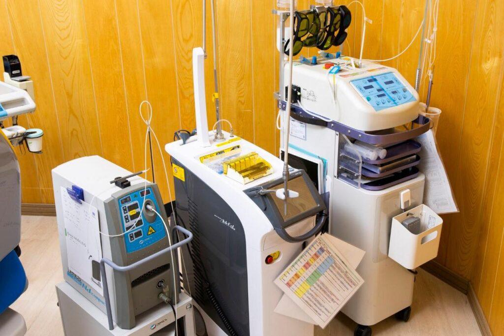 痛みを抑える最新治療機器プラズマレーザー